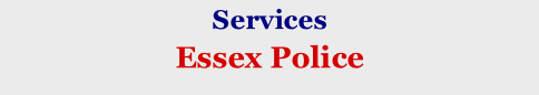 Services Essex Police