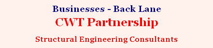 Businesses - Back Lane