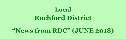 "Local  Rochford District         ""News from RDC"" (JUNE 2018)"