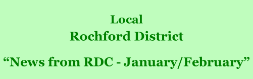 "Local  Rochford District         ""News from RDC - January/February"""