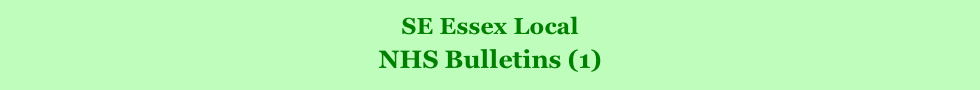 SE Essex Local         NHS Bulletins (1)
