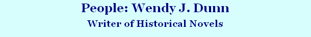 People: Wendy J. Dunn
