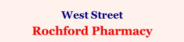 West Street  Rochford Pharmacy
