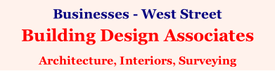 Businesses - West Street Building Design Associates  Architecture, Interiors, Surveying