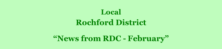 "Local  Rochford District         ""News from RDC - February"""