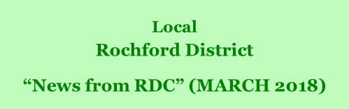 "Local  Rochford District         ""News from RDC"" (MARCH 2018)"