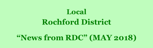"Local  Rochford District         ""News from RDC"" (MAY 2018)"