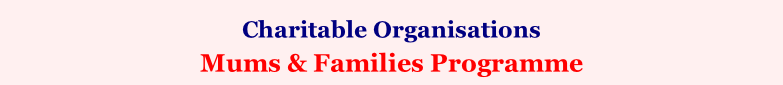 Charitable Organisations    Mums & Families Programme