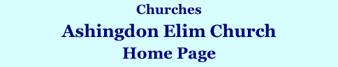 Churches Ashingdon Elim Church Home Page