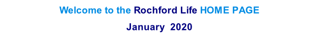 Welcome to the Rochford Life HOME PAGE  January  2020   th  2013